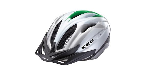 KED Joker Helmet green silver
